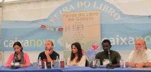 Presentación del 'Pasaporte', Feria del Libro de A Coruña, agosto 2010. Con la participación de Yolanda Castaño y Ecodesarrollo Gaia. © Cristina López Rodríguez