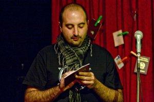 Presentazione di 'Passaporto', Caffè Fandango, Roma, gennaio 2010. © Iolanda Frisina