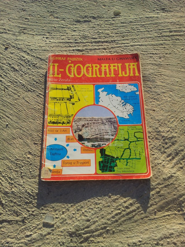A 1980s Maltese geography text book