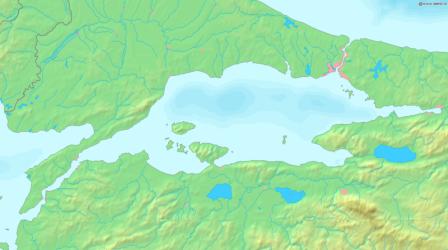 Il-Baħar ta' Marmara. (Wikipedia)