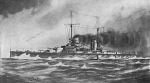Illustration of Salamis dreadnought battleship