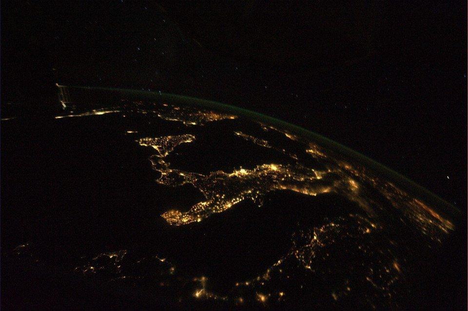 Photo by Luca Palermitano (NASA)