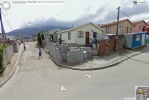 View from corner of S Biko Street and N R Mandela Road, ImiZamo Yethu, Hout Bay, Cape Peninsula